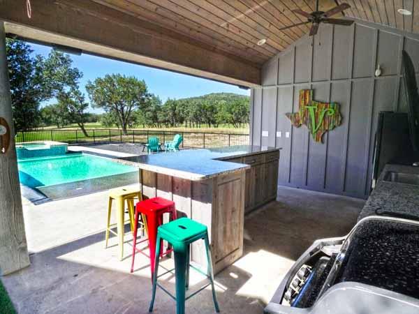 villa on the green cabana